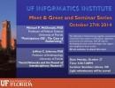 UF Informatics Institute Seminars, Oct. 27